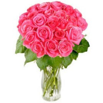 Bouquet of pink roses Rosy Reveries (without vase)