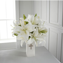 The FTD Faithful Blessings Bouquet - VASE INCLUDED
